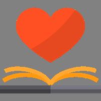 書裡出現愛心