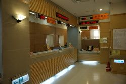 Outpatient registration and cashier counter