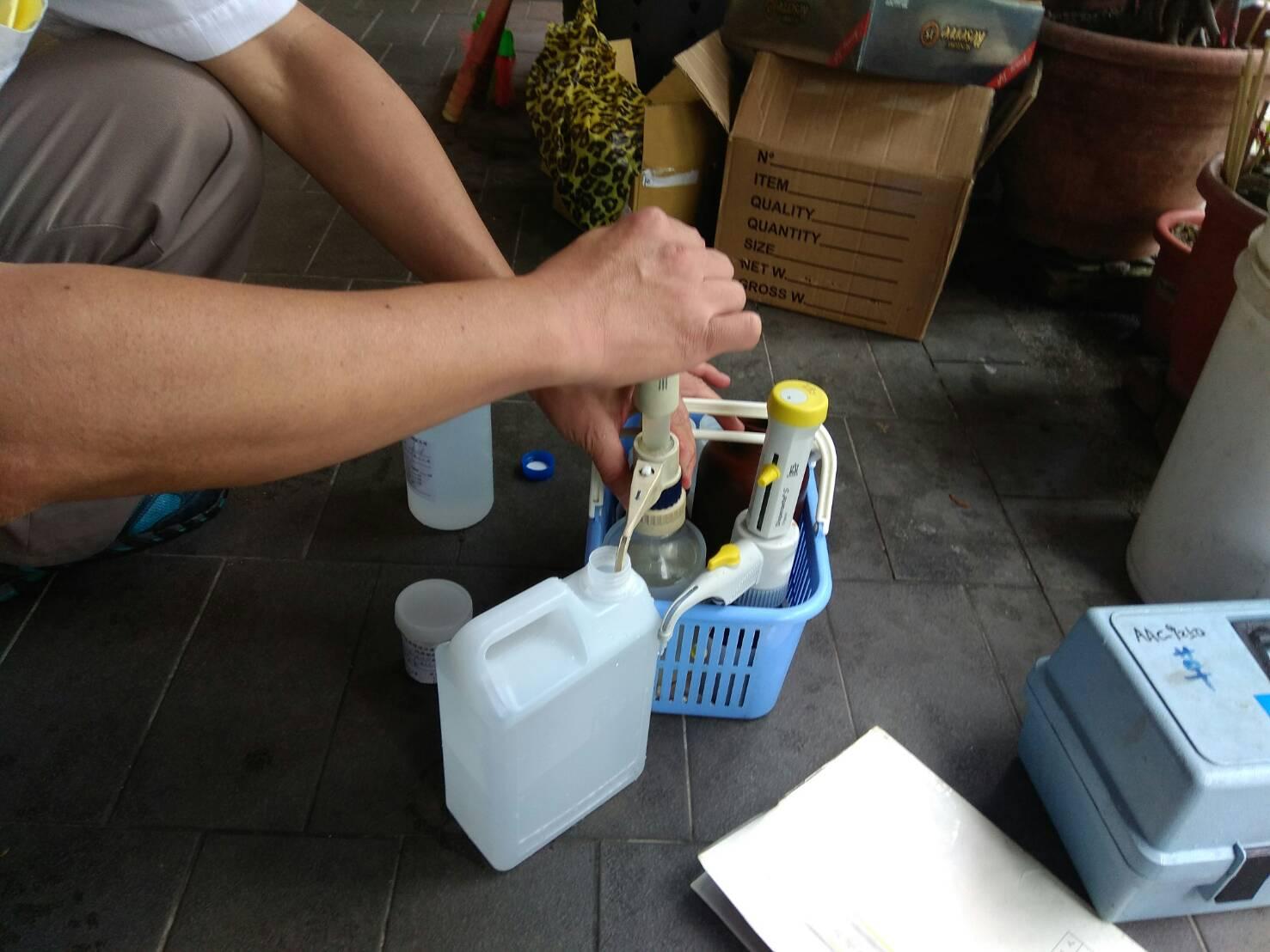 飲用水檢測