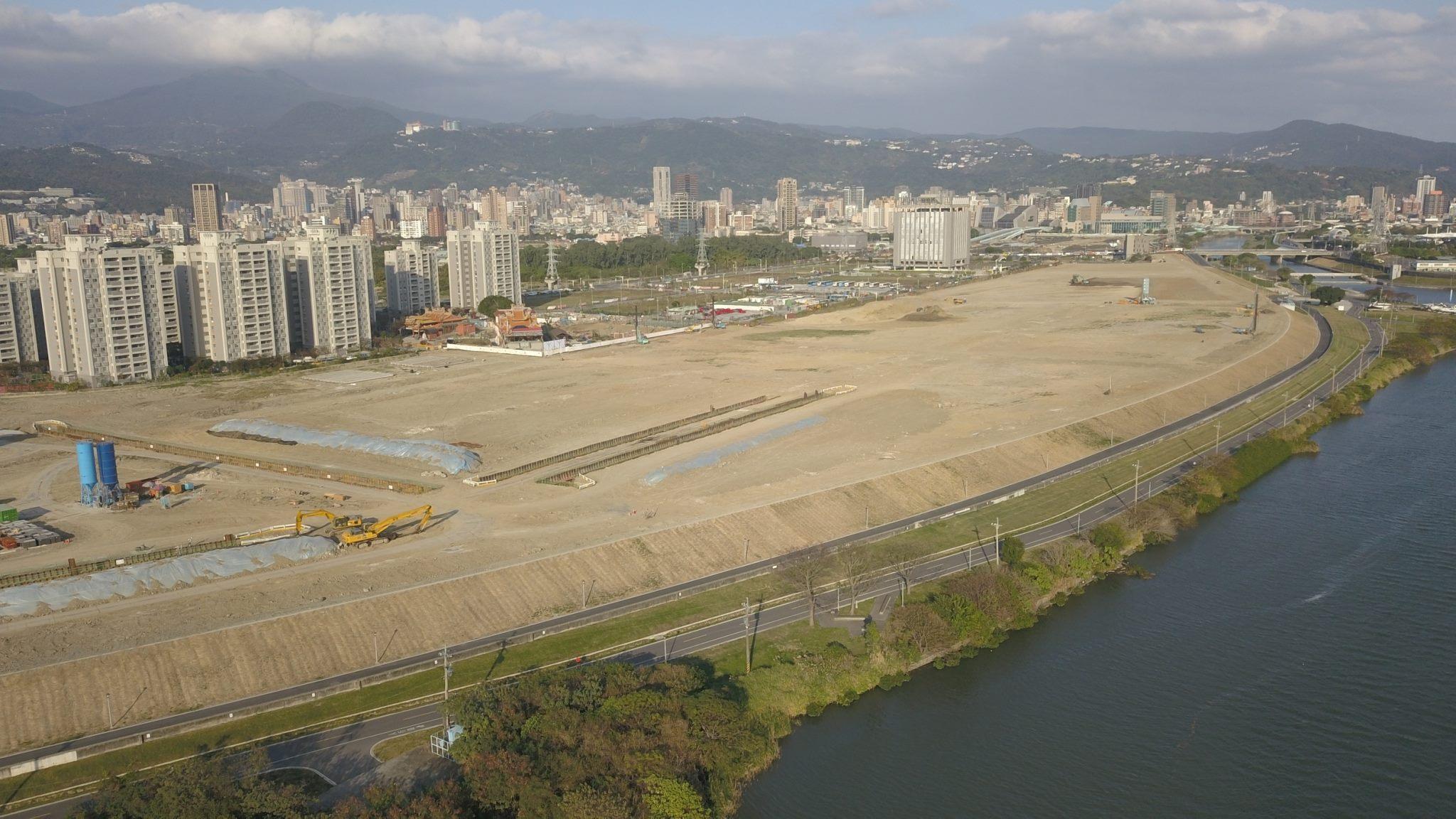 北科工程現場照片-第2期公共工程(西基地)施工