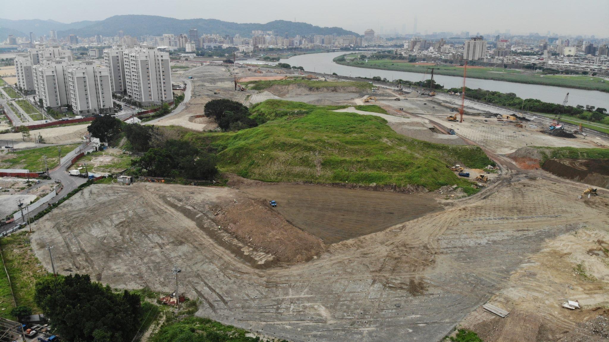 北科工程現場照片-填土整地(第2期T16、T17、T18以外工區)西基地填築