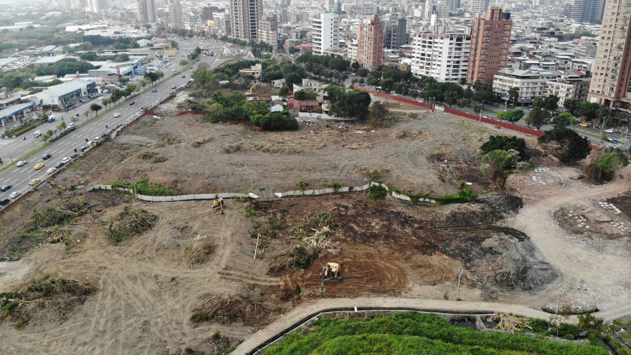 北科工程現場照片-填土整地(第2期T16、T17、T18以外工區)東基地填築
