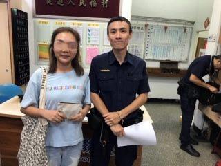 「中」於找到了!員警協助中國旅客找回遺失物