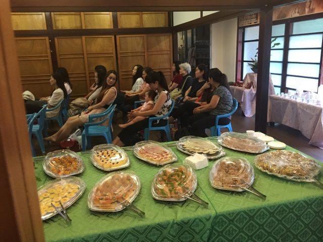 本課程辦結業式聚餐給學員