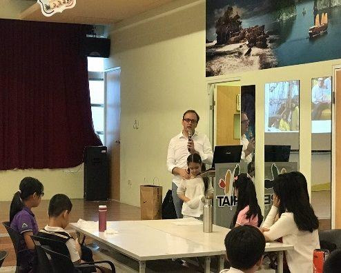 老師分享外國文化