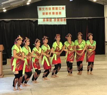 展示原住民舞蹈表演活動