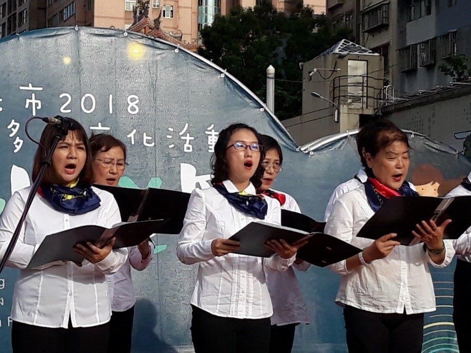 信義美聲班 多元文化表演活動