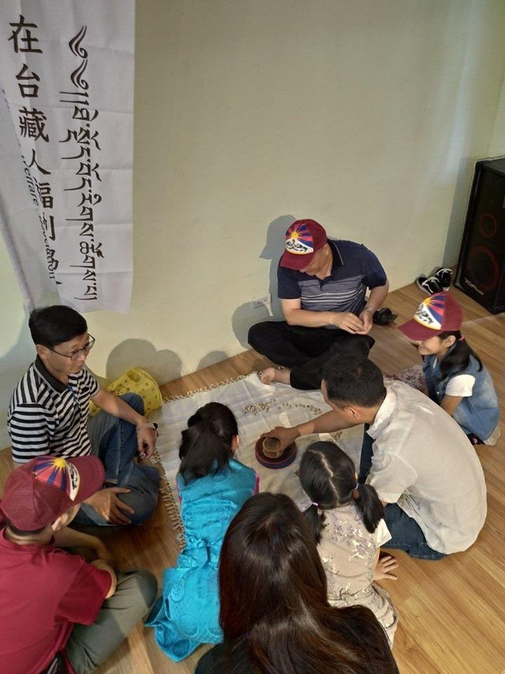 示範西藏有趣遊戲