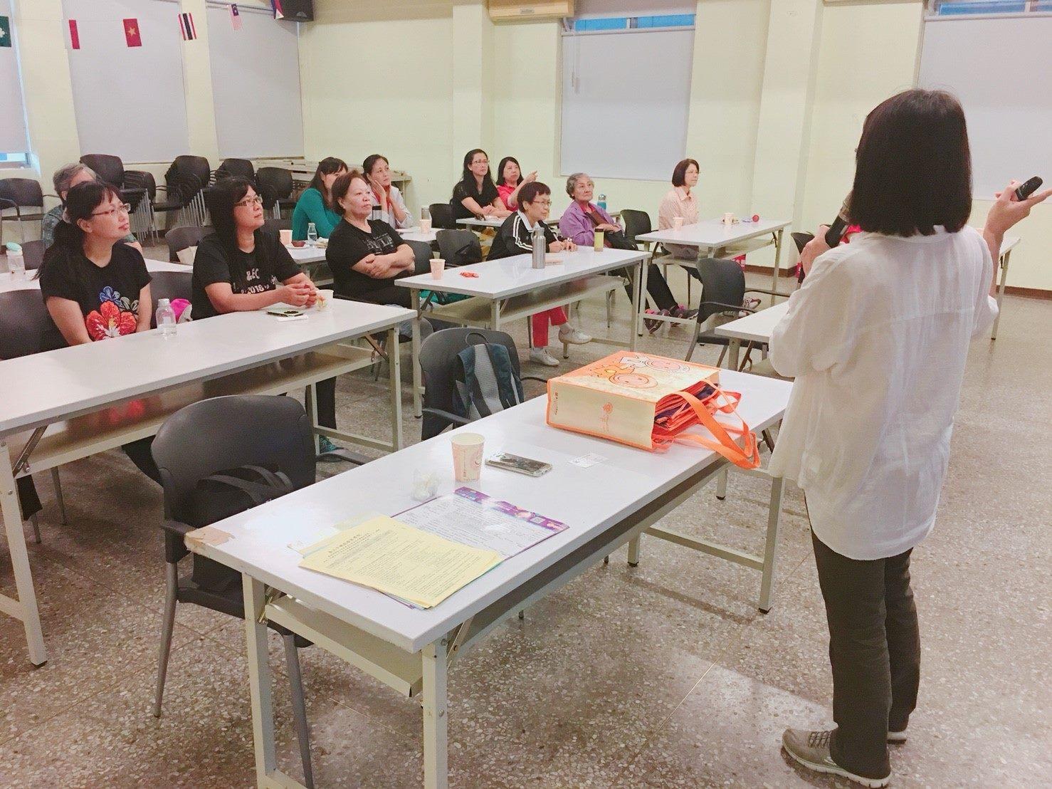 就業服務處陳講師授課