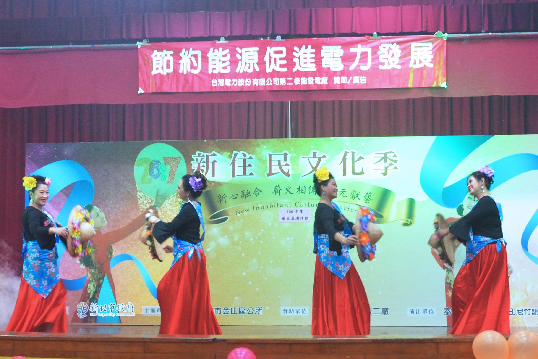 泰友印越舞蹈社 新住民文化季