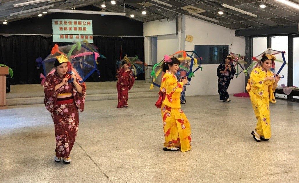 日本傳統舞蹈結業表演