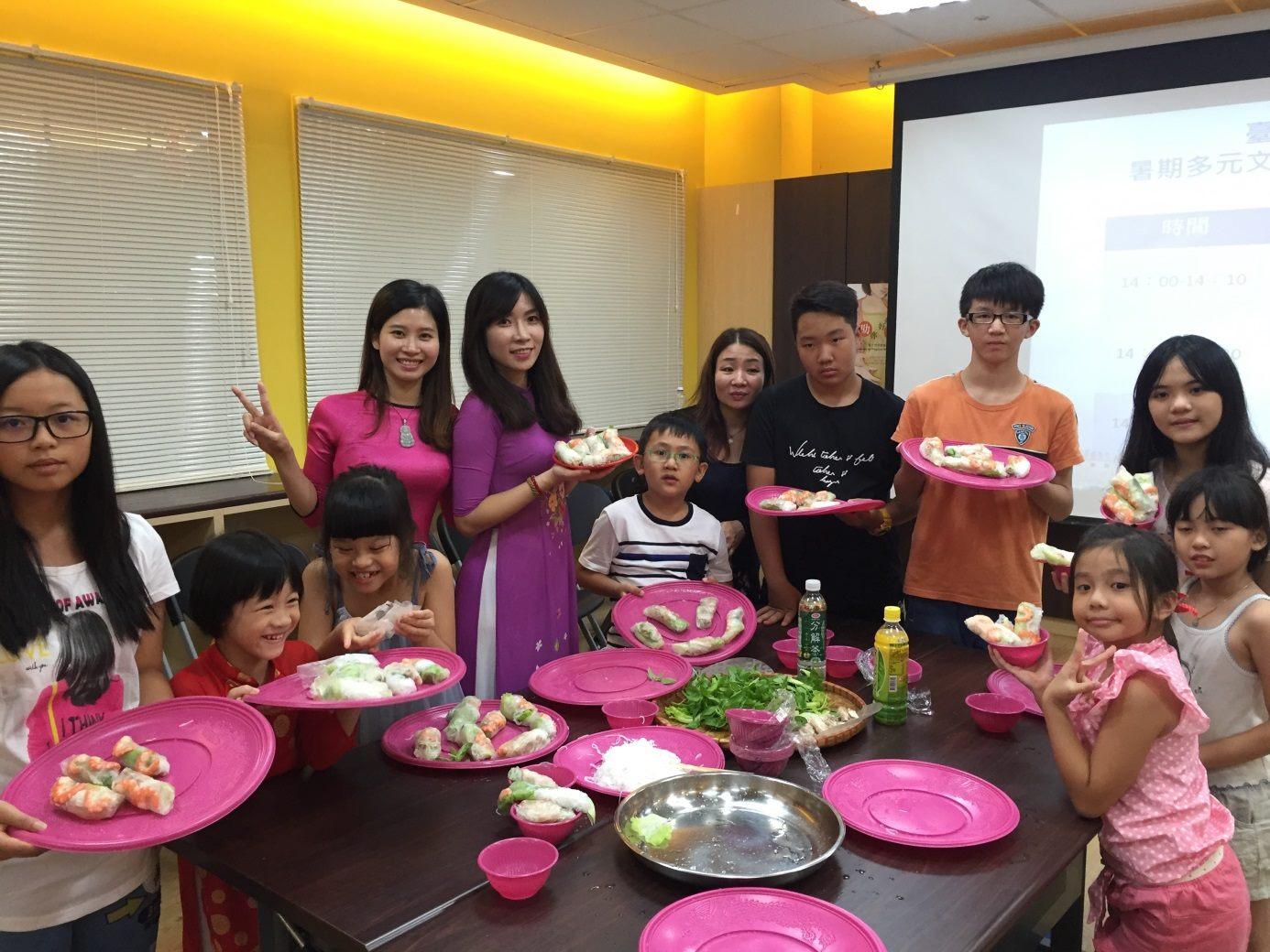 自做越南美食展示活動