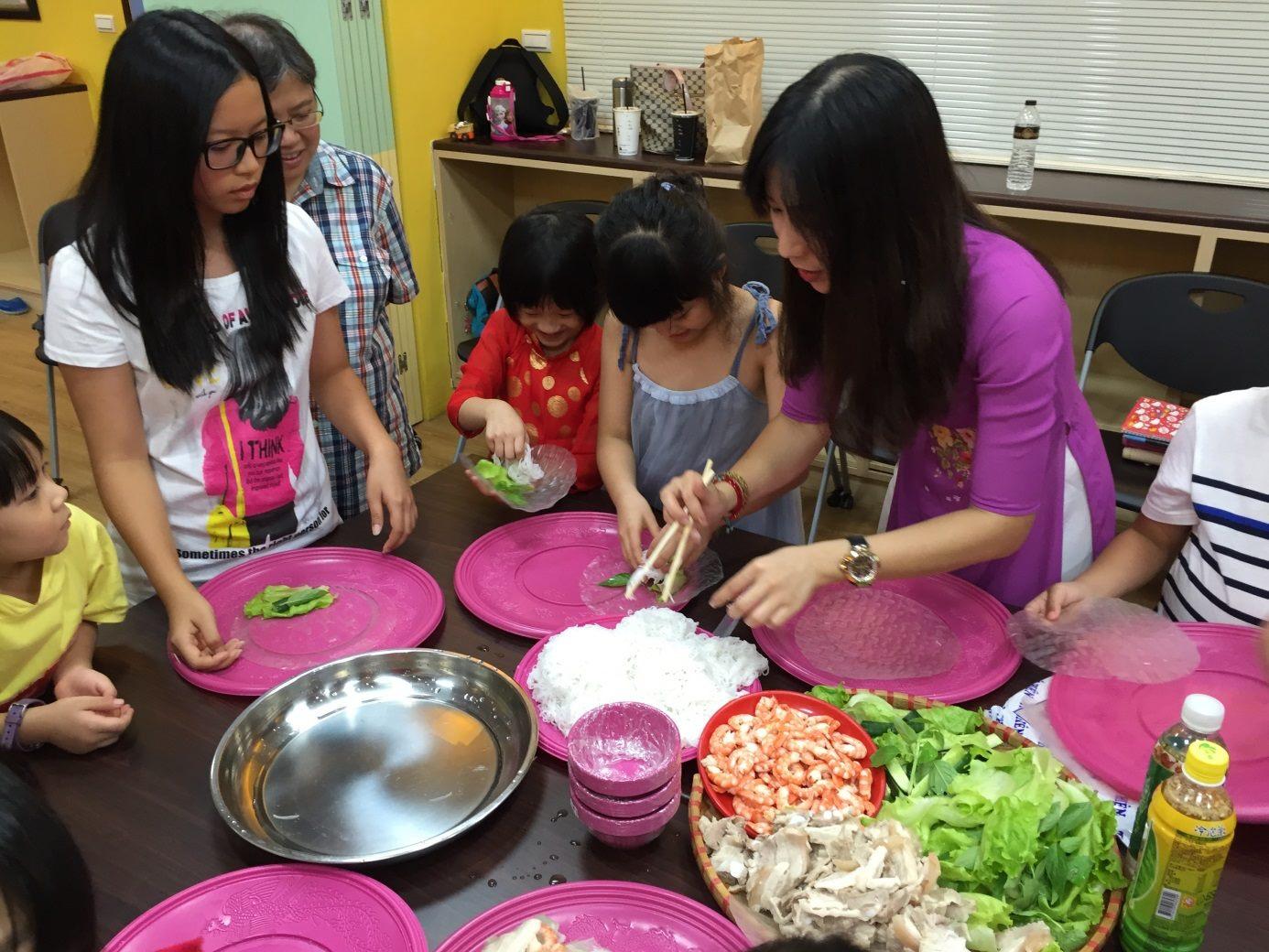 越南文化課程自做越南美食