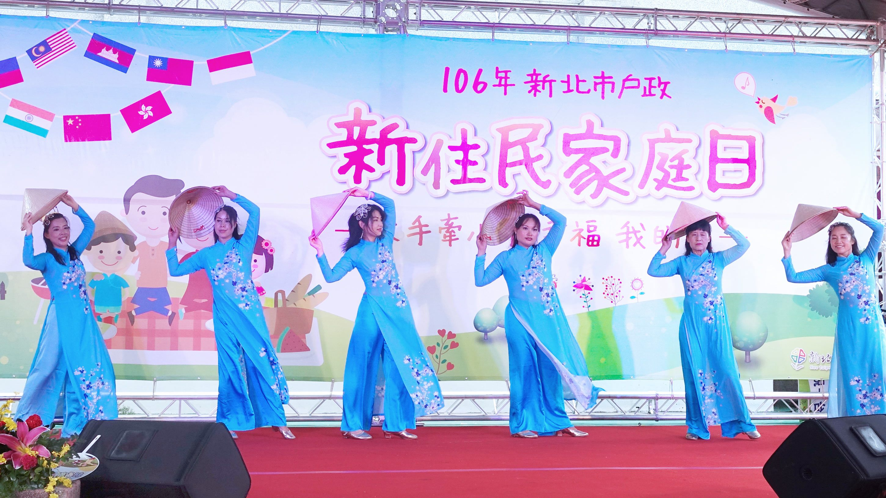 JW Dance Group put a show on Vietnamese Traditional Dance