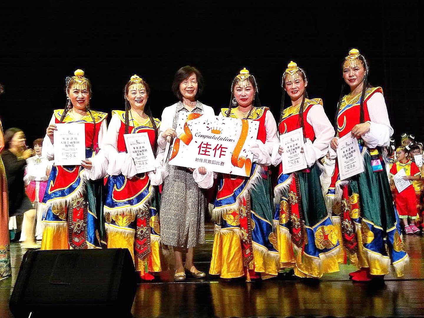 Happy Angel Dance Group win The Best Group Dancer performance