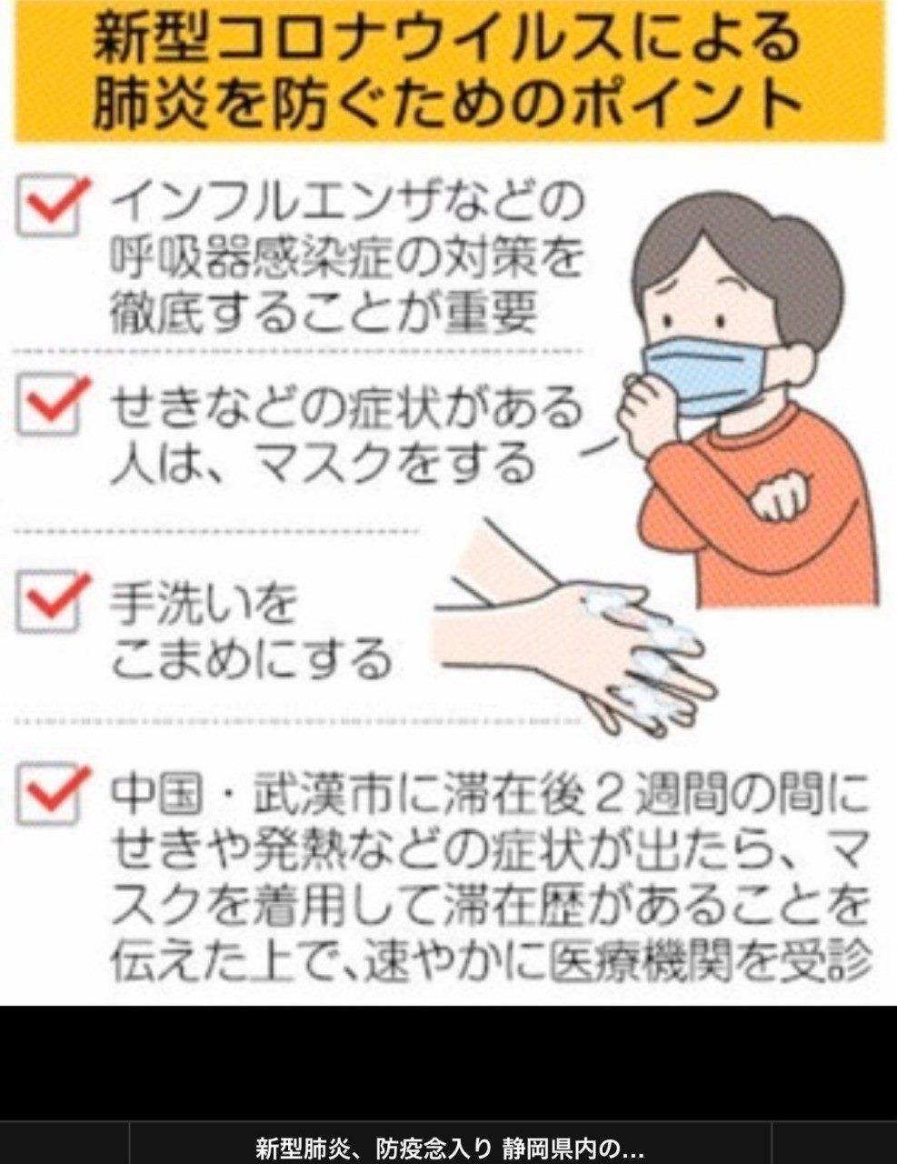 コロナ ウイルス 予防