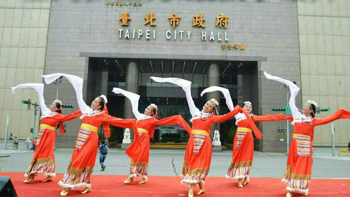 台北市政府で演出