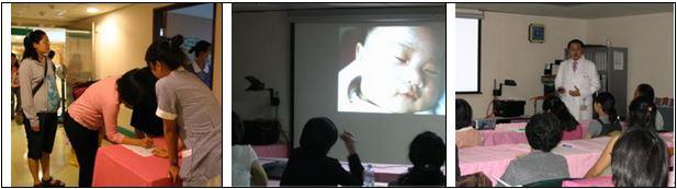 定期舉辦媽媽教室座談會