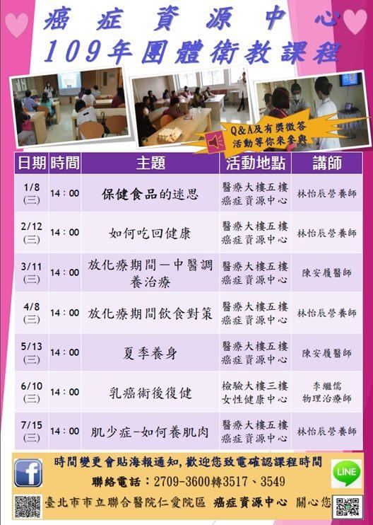 6.最新團體衛教