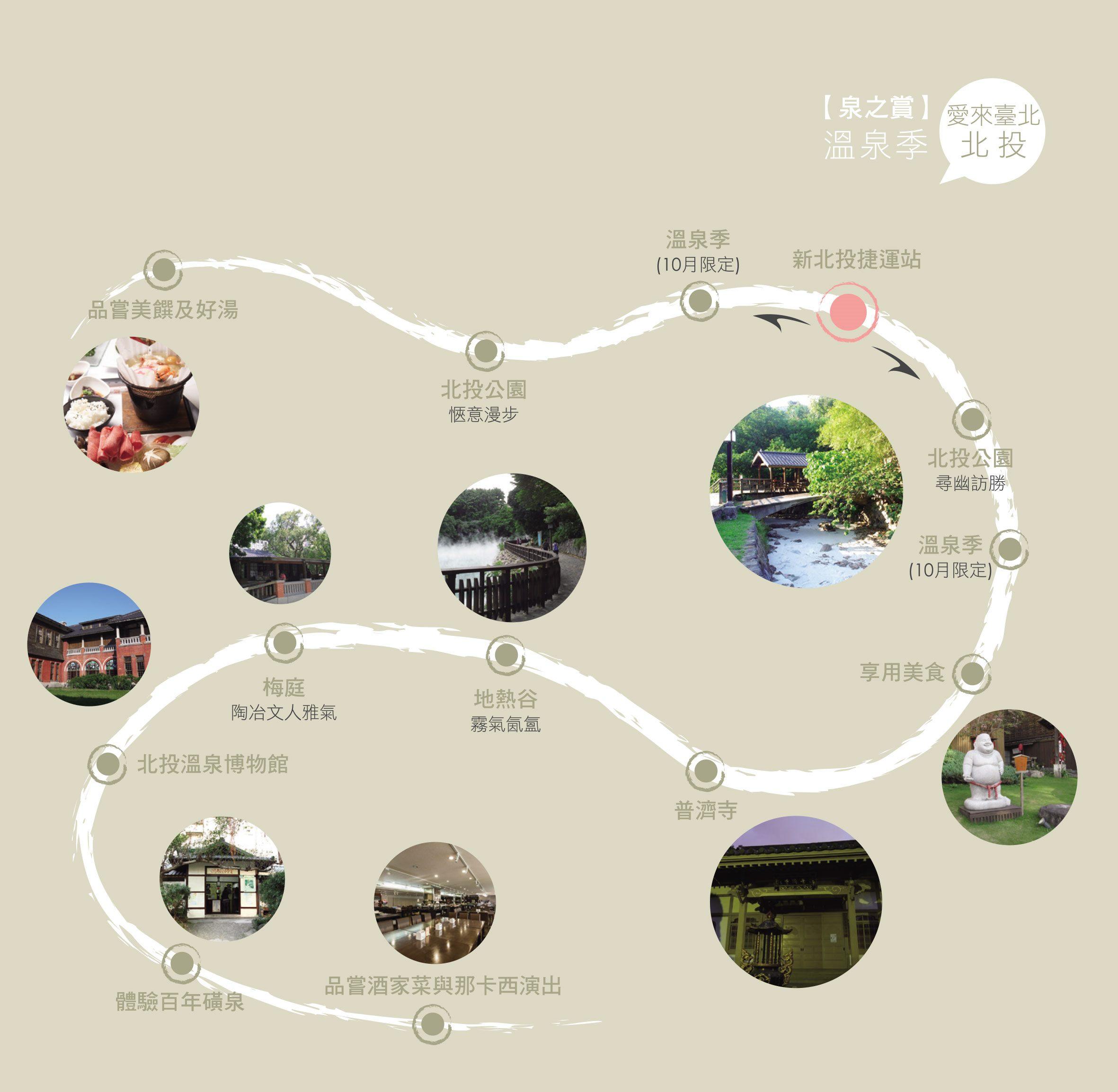愛來臺北北投 泉之賞溫泉祭