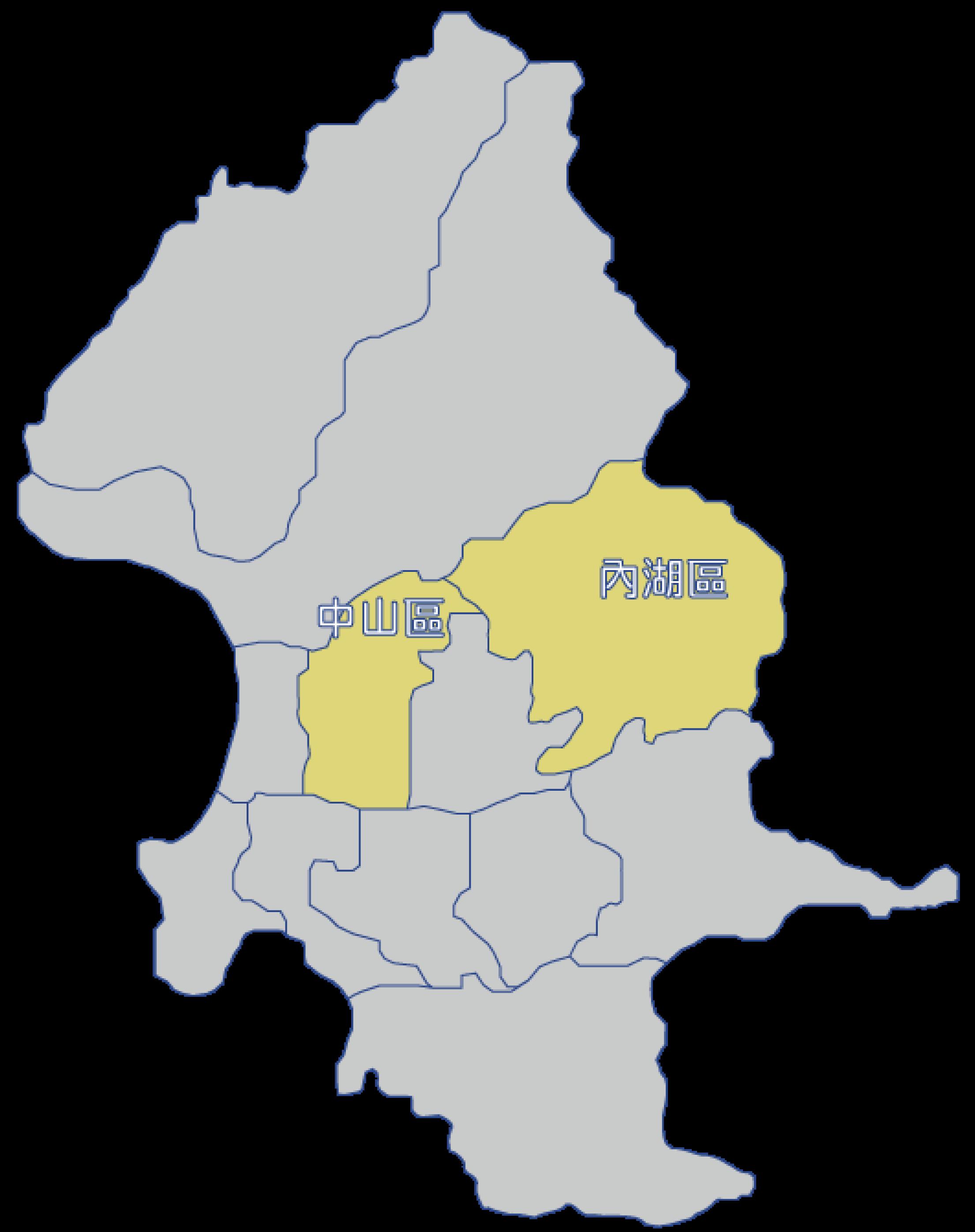 本所轄區圖