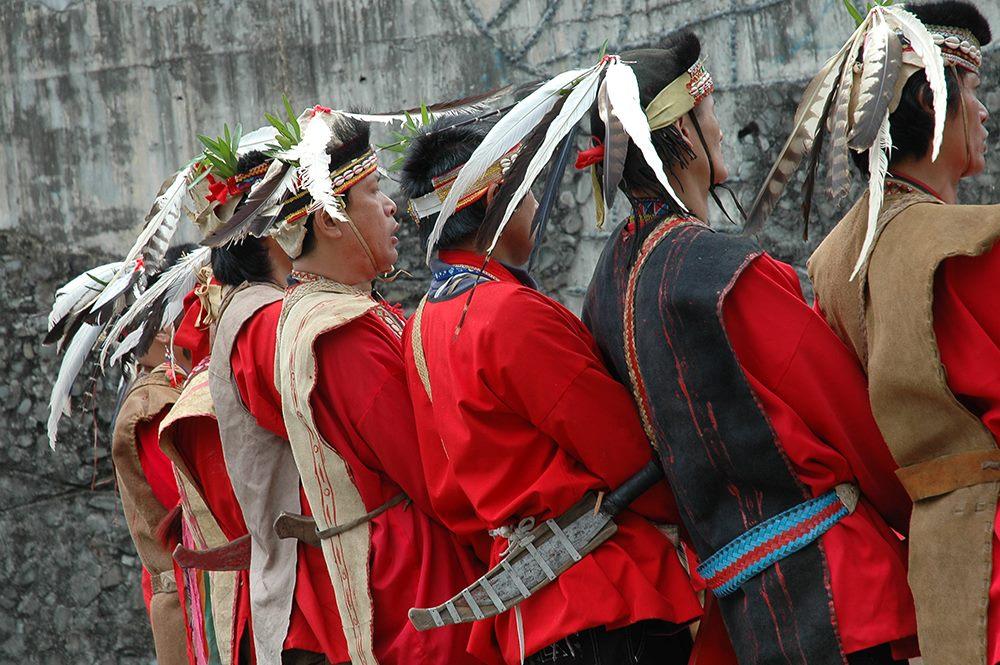 認識台灣原住民示意圖