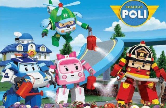 ROBOCAR POLI-HAPPY NEW YEAR