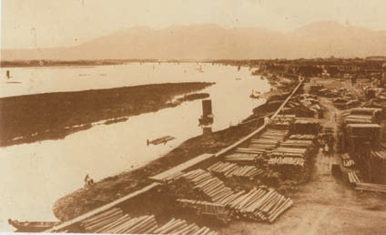 A nostalgic snapshot of Tamsui riverside
