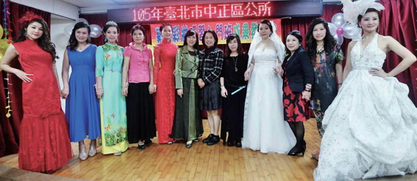 Bridal assistant training in Zhongzheng District