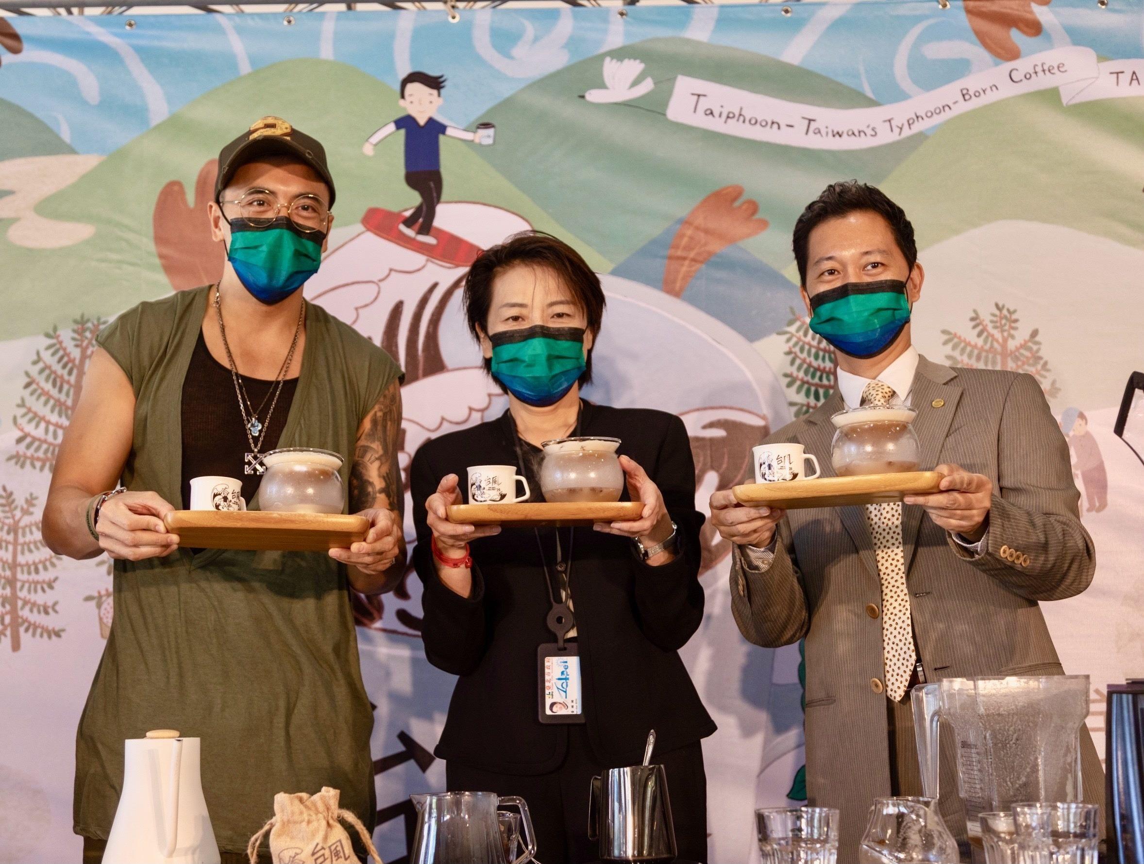 Deputy Mayor Kicks-off 2021 Taipei International Coffee Fest