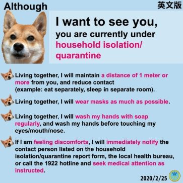 If you live with someone under quarantine follow these tips!
