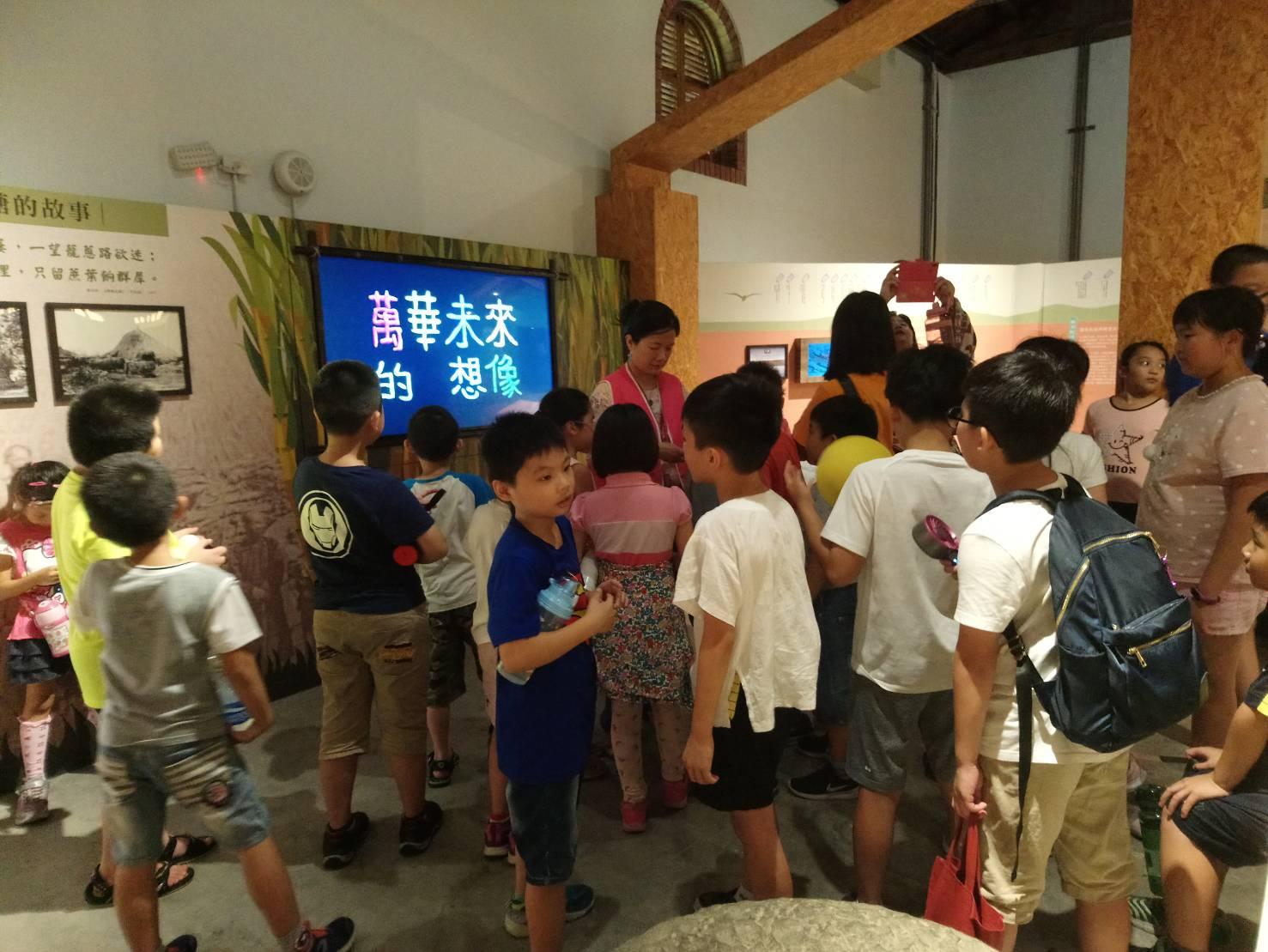 頗受親子歡迎的鄉土教育場域-糖業文化展示館(A倉)