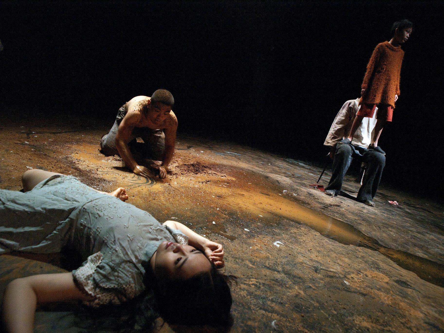 2011台法共製《沃依采克》牯嶺街小劇場年度公演-演出劇照
