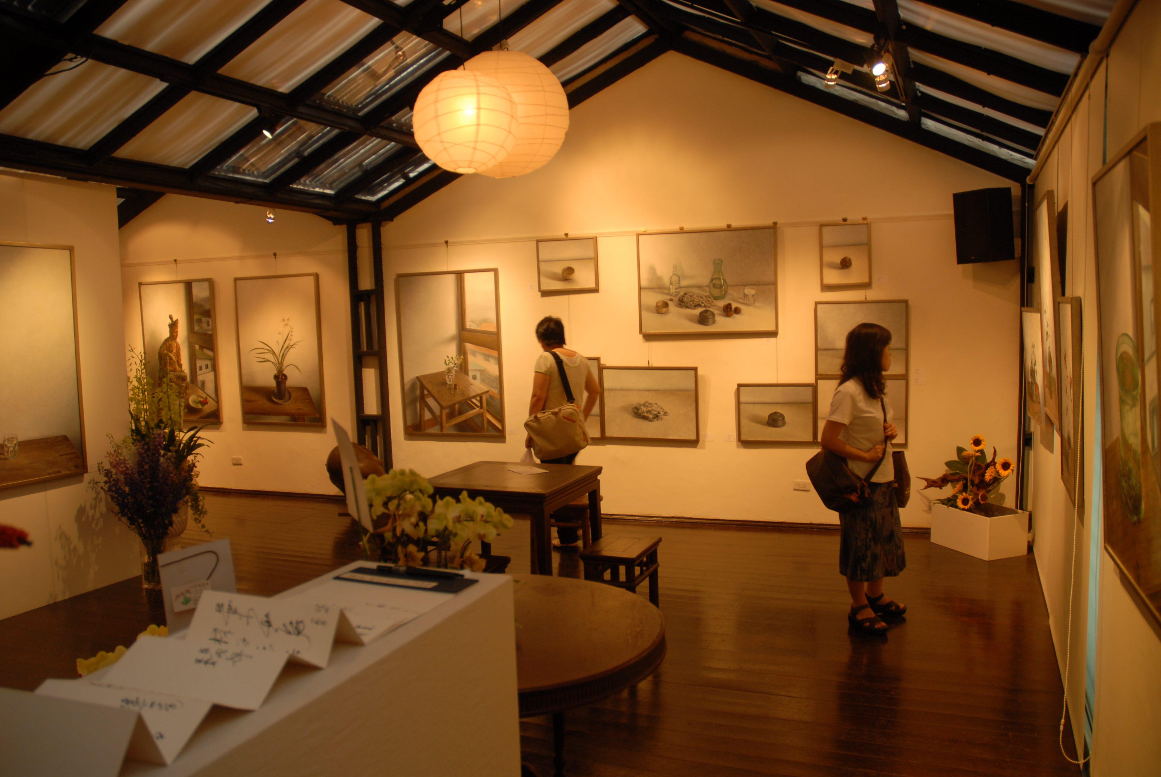 多元利用的畫廊空間