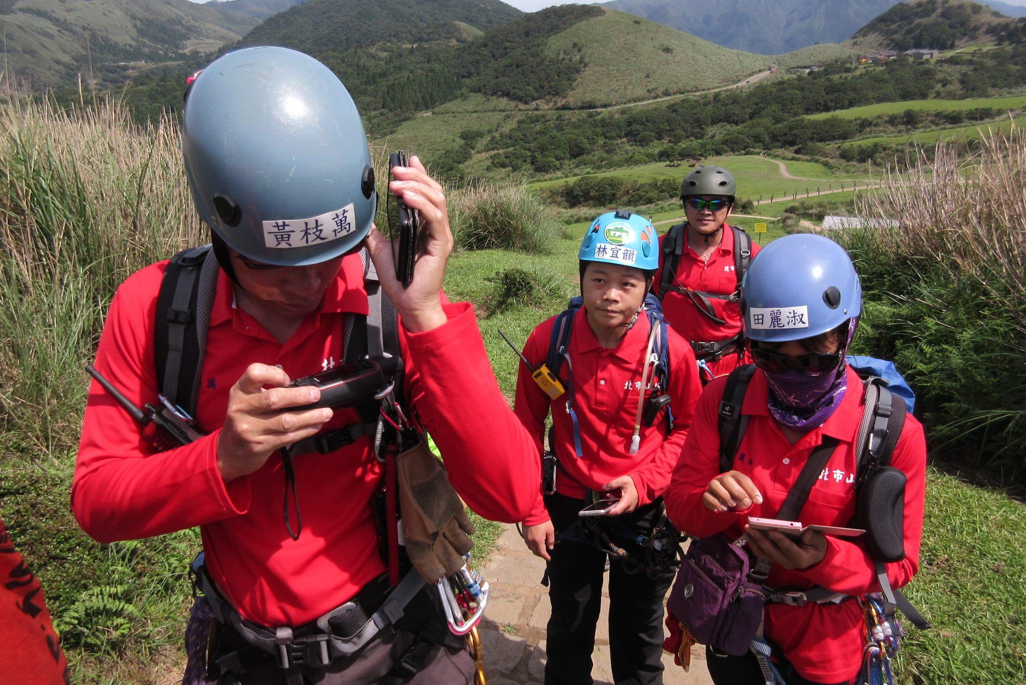 災害防救團體山上訓練照片