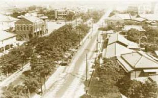 臺北車站前三線路(今忠孝西路)