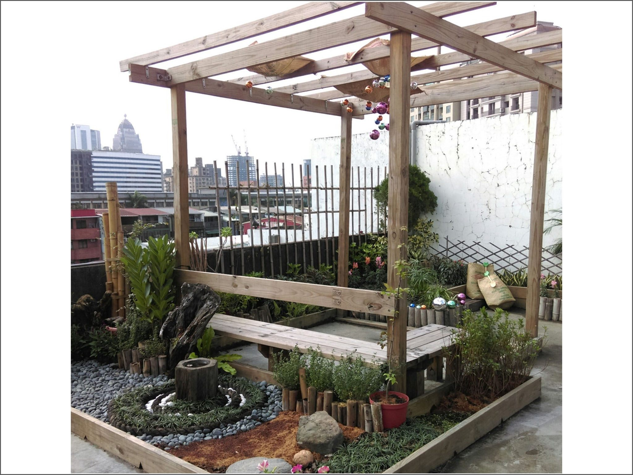 庭園型綠屋頂照片