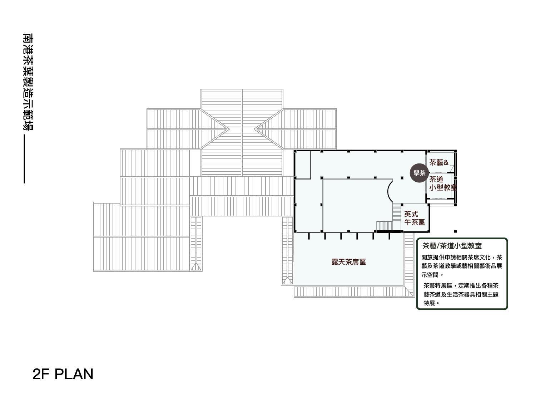 南港茶製場2F平面圖