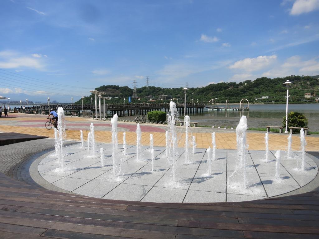 關渡景觀乾式噴泉