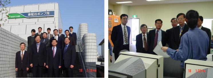 參訪日本東京都東米花谷抽水站