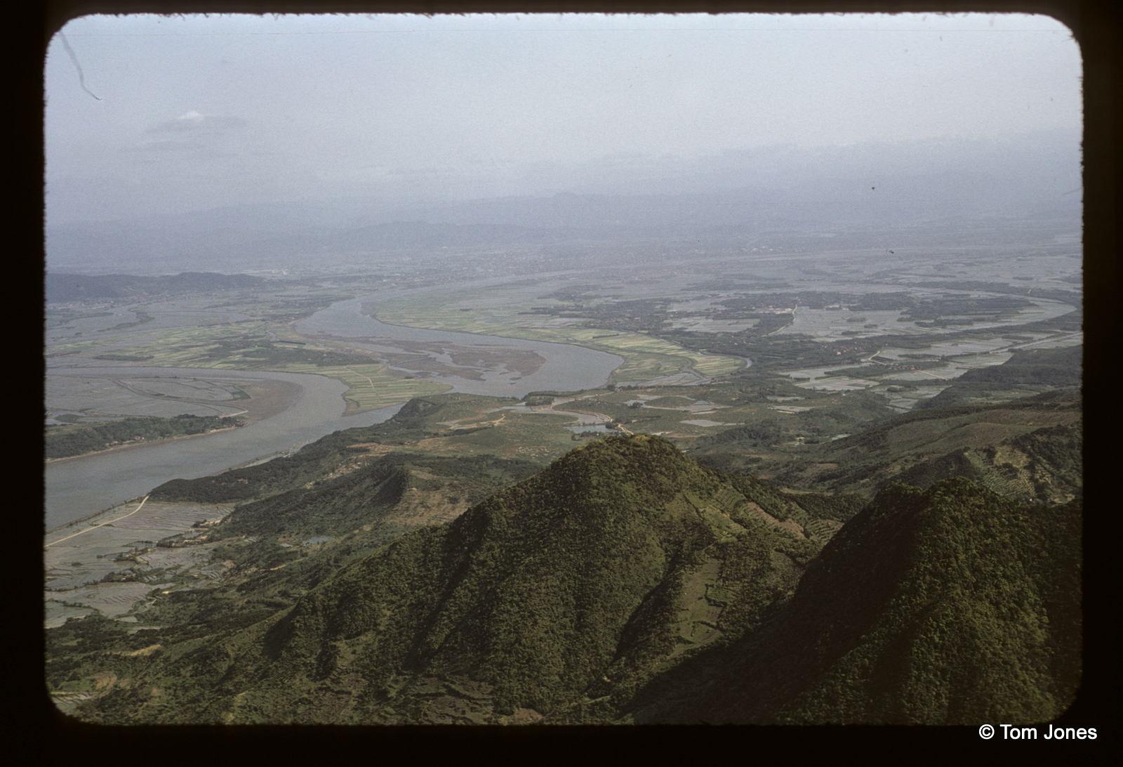 1958年觀音山看基隆河、淡水河