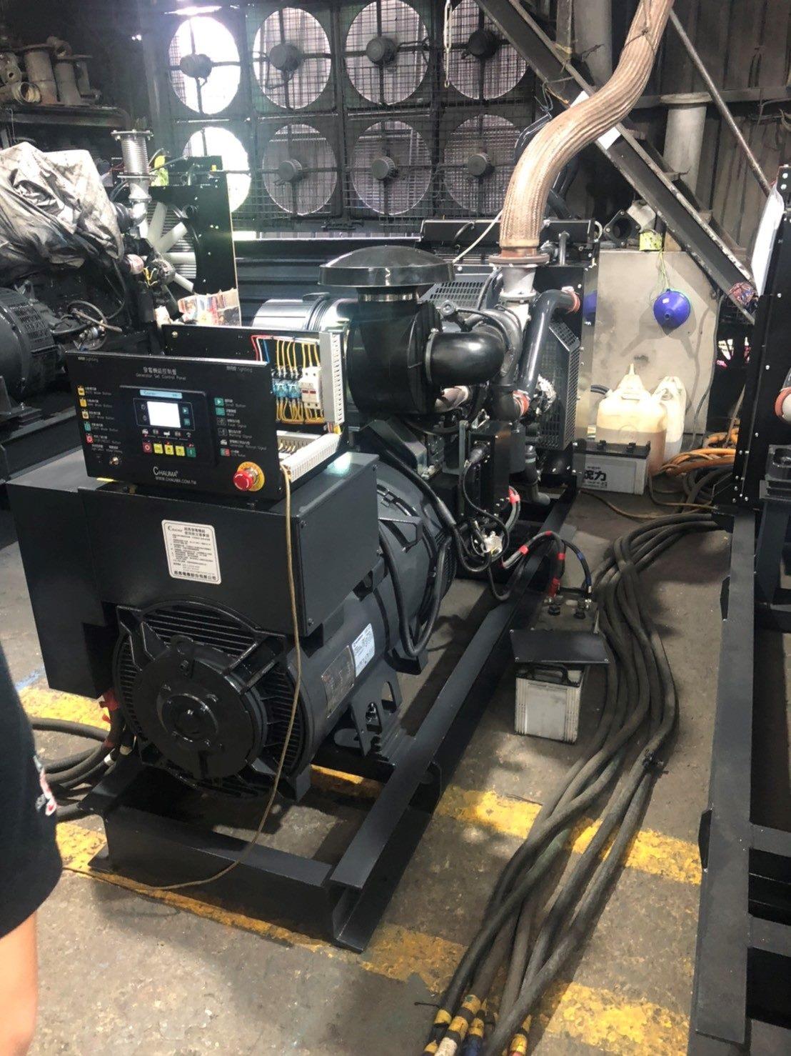 柴油引擎發電機