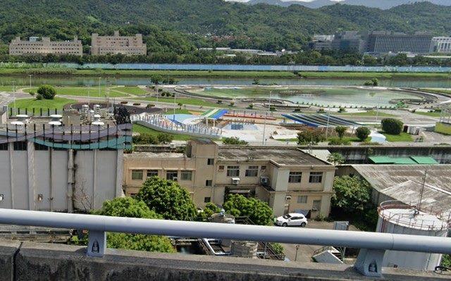 中山抽水站外觀照片