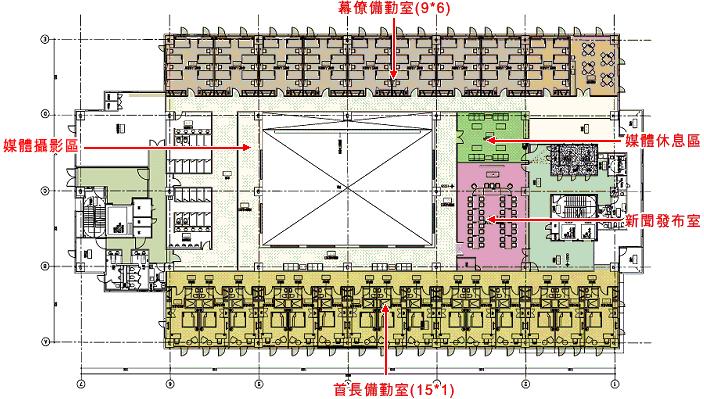 六樓平面設計圖