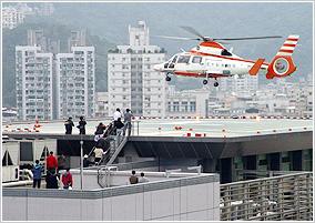 屋頂直昇機停機坪
