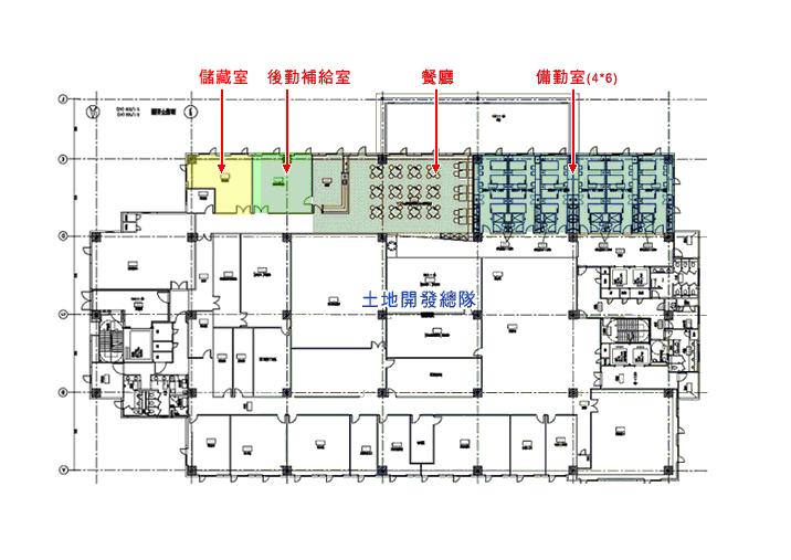 四樓樓層配置圖