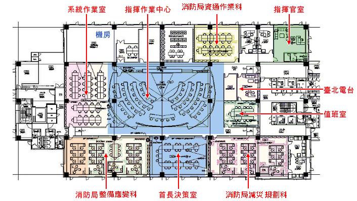 五樓平面設計圖